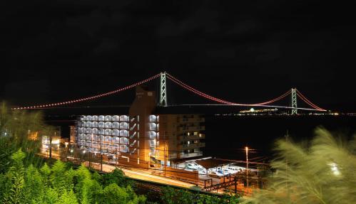night view kobe