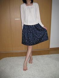 ギャザースカート 003