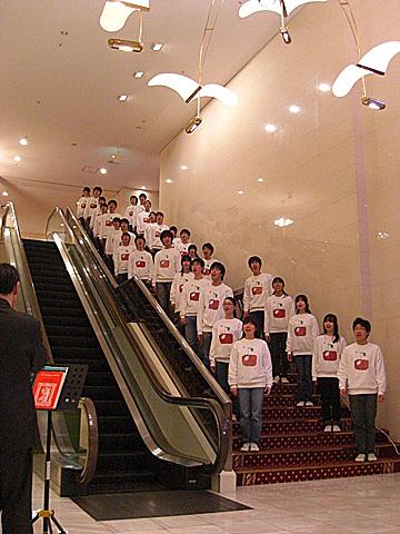 12 12/22 ロワジールホテルロビーコンサート
