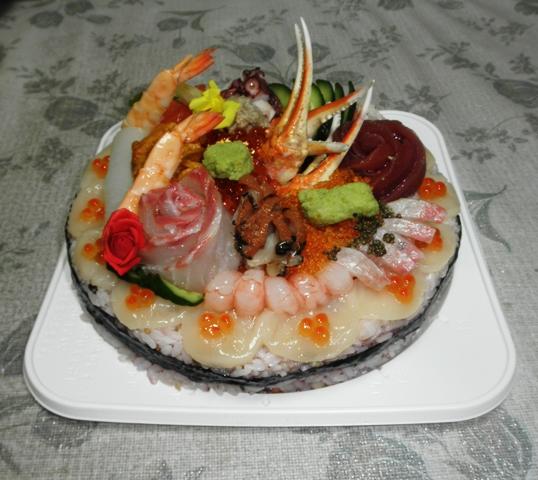 寿司デコケーキ
