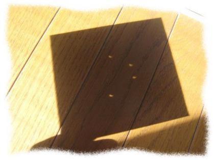 2012年5月21日午前7時29分金環日食