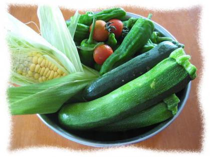 2012年7月4日夏野菜