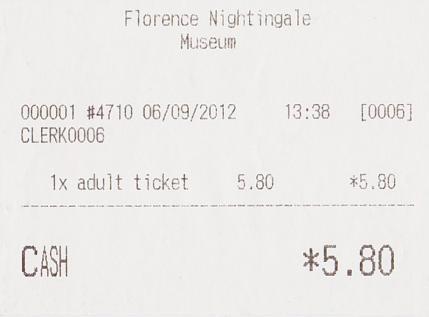 2012年9月6日ナイチンゲール博物館②