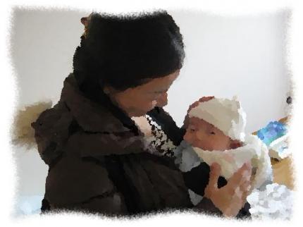 2013年12月15日Oさん親子