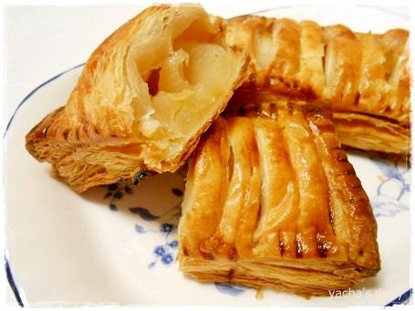 20130122アップルパイ食べる