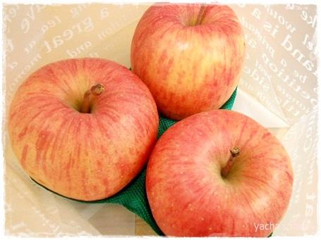 20130122りんごおすそわけ