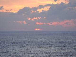 足摺の夕陽