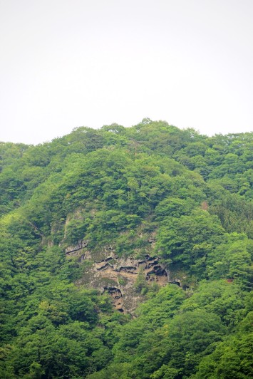 つつじヶ丘からの籠岩