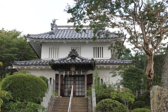 旧笠間城八幡台櫓