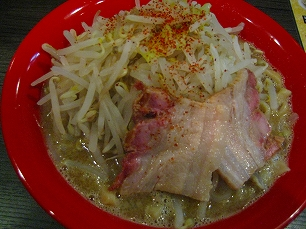 四麺燈@煮干野菜ドカ800