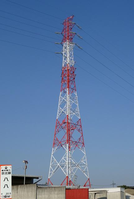 京北線88号鉄塔