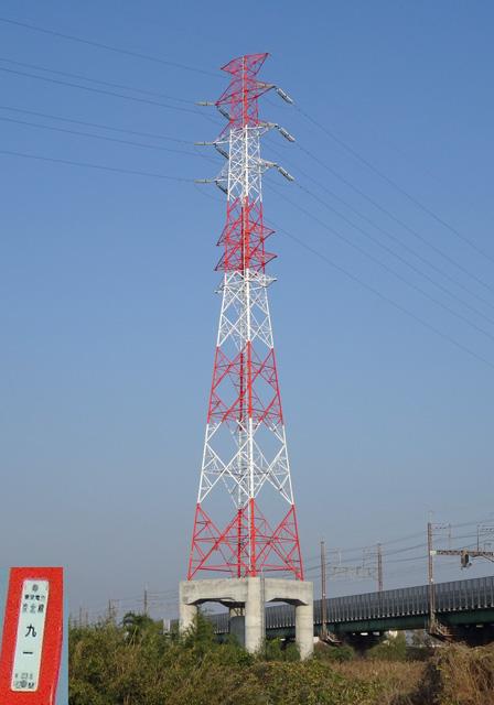 京北線91号鉄塔