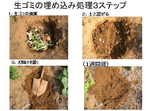 生ゴミ3ステップ(夏)