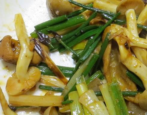 アサツキ花芽料理
