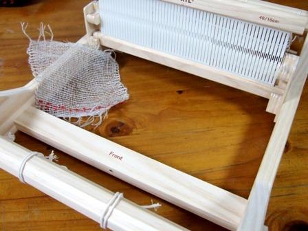 小さな編み機