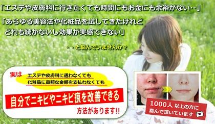 田中玲子さんの経歴と「ニキビ改善法」の本物の購入ユーザーの意見を検証