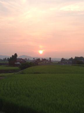 2012.07.27散居村の夕暮れ02