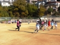 ラグビー 練習風景