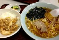 130120_2-3中華そば+麻婆丼