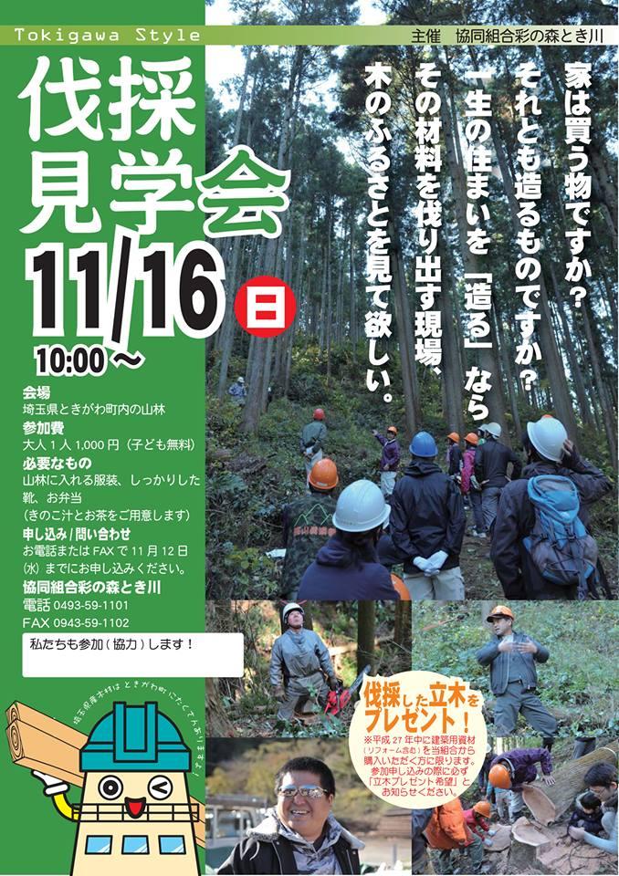 伐採見学会2014