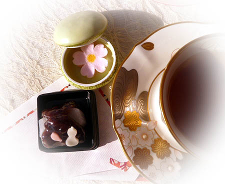 花の宴・京菓子 秋茶
