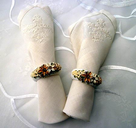 陶製ナプキンリング
