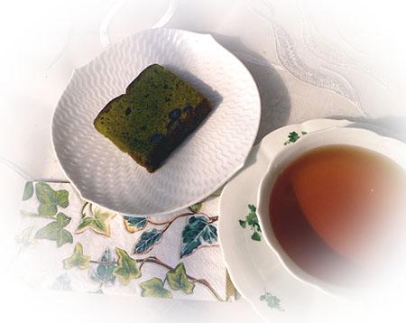カットケ-キ・抹茶&ニルギリ