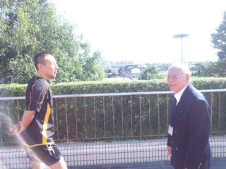 富山会長と密談