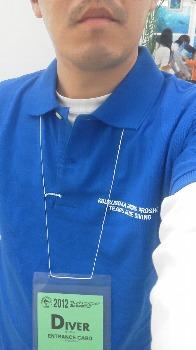 ポロシャツ 青