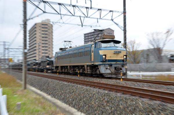 自衛隊機材輸送列車2013(返し)