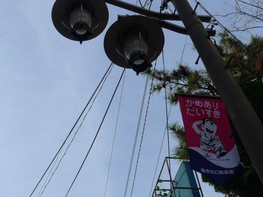 20120107・街灯と両さんの旗