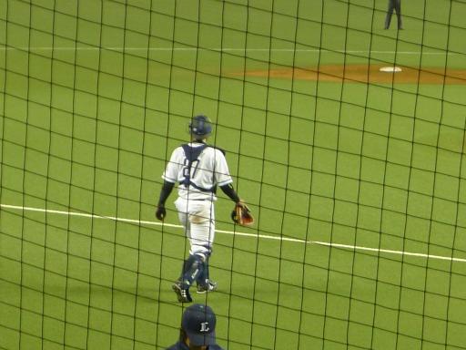 20130416・野球31L・炭谷選手