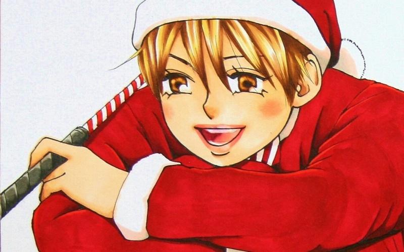 クリスマス二人bubun