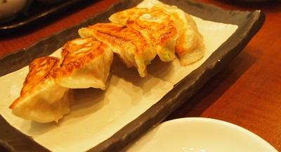 豚肉とレタスの焼き餃子