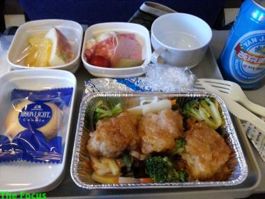Air China 機内食