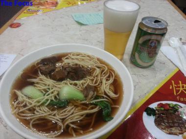 北京首都国際空港 食事