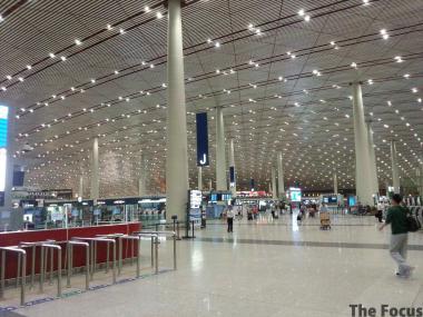 北京首都国際空港 チェックイン