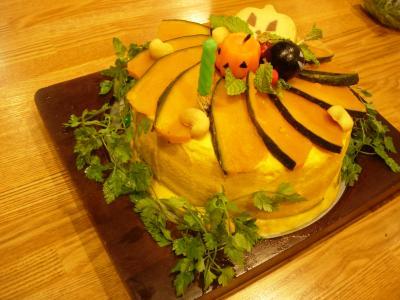 ブログ用パンプキンケーキ