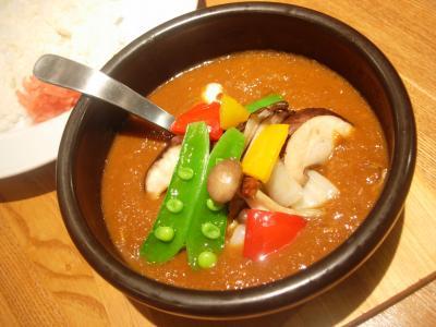 ランチ野菜カレー