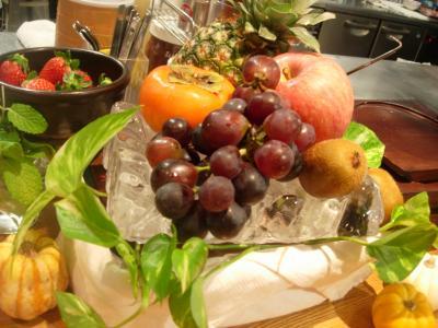 ブログ用フルーツ盛り氷器
