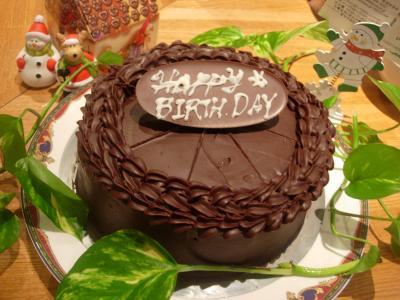 ブログ用バースディケーキ