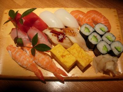 ブログ用寿司2人前