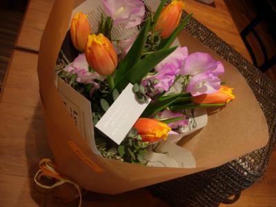ブログ用花束