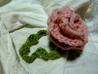 一輪薔薇のブレスレット