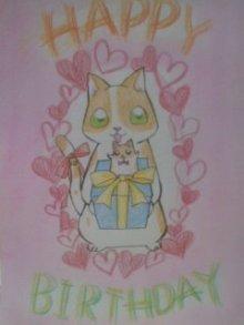 優しい気持ちになれる・なりたい人へ癒しイラストをプレゼント-ネコ ハムスター
