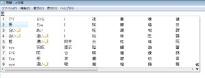 笑顔になれる場所-変換 目当ての漢字