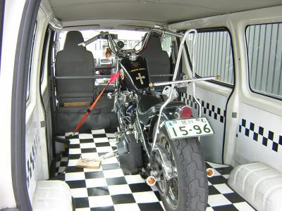 バイク退院