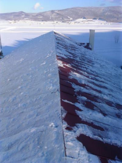 工房屋根雪下ろし