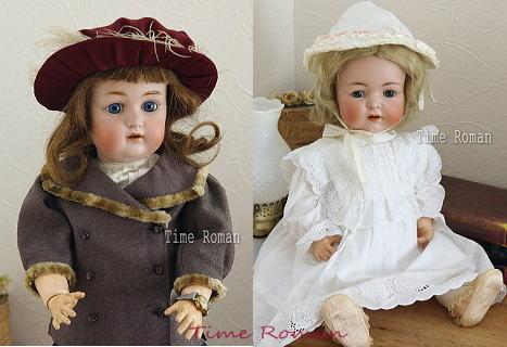 アンティークドイツ人形