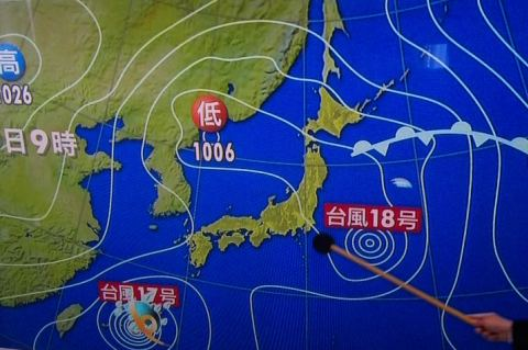 2012/09/28天気図